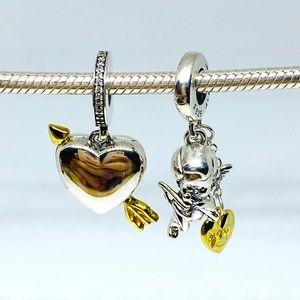 Pandora Shine Set Cupid + Heart